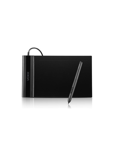 """Veikk Veikk S640 6 X 4"""" 8192 Levels 5080 Lpı Grafik Tablet + Kalem Renkli"""